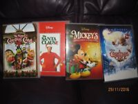 Assorted New Disney Christmas DVDs