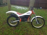 Aprillia tx240 trials bike