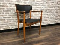 Mid Century Teak Portex Carver Chair