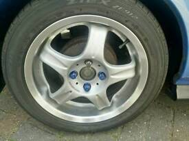 4x100 pcd Rays Volk racing jdm AV Revolution alloy wheels