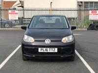 2016--VOLKSWAGEN UP 1 LITRE PETROL---£20 TAX A YEAR--- MOT 31/07/2019----1 Year Warranty----1 OWNER