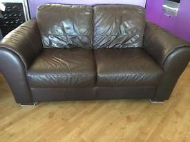 2 seater sofa and storage foot stool