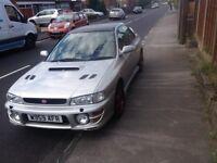 Subaru Impreza turbo swap