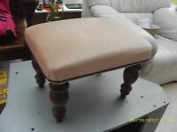 FOOT STOOL UNUSED PERFECT CONDITION