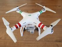 DJI PHANTOM 3 STANDARD: Almost NEW in perfect condition. Amazing 2.7k camera