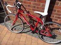 """Apollo tempo road bike 24"""""""