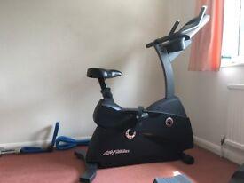 Life Fitness C3 Exercise Bike.