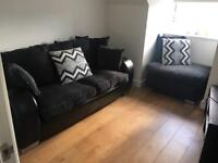 Sofa and Puff chair