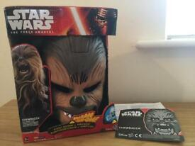 Star Wars Chewbacca Mask with Sound Effects