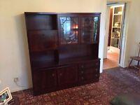 Rossmore Oak Vintage Style Living Room Unit