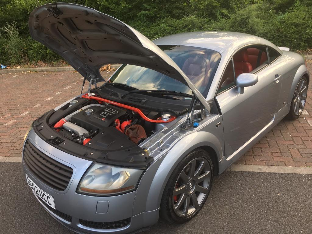 Audi Tt 1 8t 225 Modified Stage 2 Mapped In