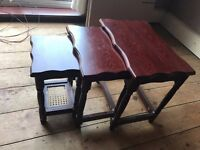 Nest of 3 Table Stools