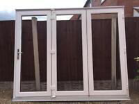 Upvc Bifold doors white