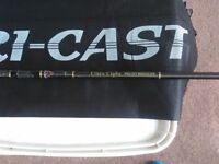 Various tricast xrs rods