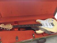 Fender Yngwie malmsteen strat Yjm fury - 2 months old - stratocaster