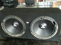 JL TWIN SUBWOOFER BASE BOX