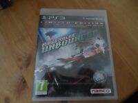 Ridge Racer Unbounded Limited Edition PS3 game NEW and Sealed