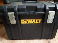 Dewalt tools Box