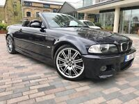 2005 Bmw M3 Convertible 55 Reg Low Mileage 86k Fully Loaded