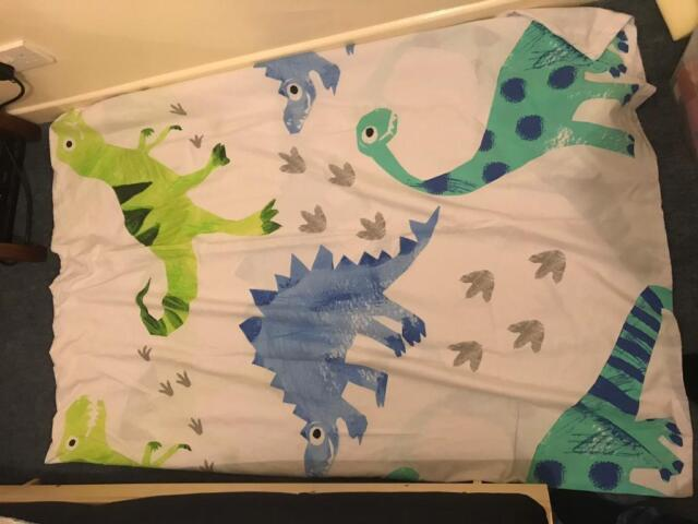 27772b1d372b Next Ben the Dino toddler bed set with curtains. | in Barry, Vale of ...