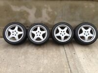 "Mercedes Audi Volkswagen 5x112 fitting 5 stud 17"" alloy wheels"