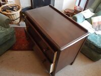 Vintage Lebus 2-drawer chest