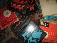 "A large collection of used mixed 7""reel tapes (£1.00 each)"