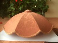 Terracotta Lampshade 9 segment design No 1 of 3 available