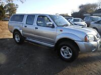 Nissan Navara 2004-54 reg ALL CARS AND VANS REDUCED !!