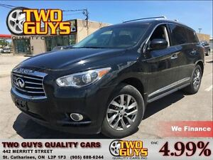 2013 Infiniti JX35 DUAL DVD LEATHER SUNROOF AWD ALLOYS
