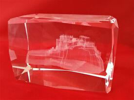 gift edinburgh castle souvenir (paperweight)