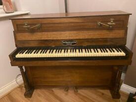 John Broadwood & Sons London Rosewood Piano