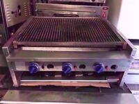 MEAT FASTFOOD USED BBQ GRILL COMMERCIAL MACHINE STEAK CATERING RESTAURANT KITCHEN SHOP TAKEAWAY