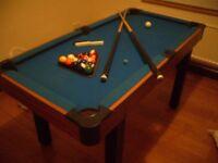 Pool/Snooker/Billiard table for children