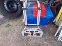 Folding sack truck in good order just clearing out me dads bits he no longer needs