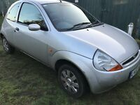 Ford KA Collection 1299cc Petrol 5 speed manual 3 door hatchback 02 Plate 01/03/2002 Silver