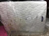Kingsize Silentnight luxury Quilted mattress