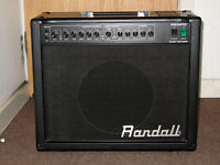 GUITAR AMPLIFIER all VALVE / TUBE RANDALL RG50TC 50w - Excellent Condition - CHECK IT OUT!