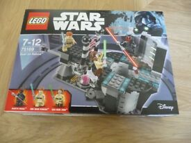 RARE BRAND NEW STAR WARS LEGO SET 75169 DUEL ON NABOO