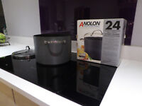 Anolon Meyer Professional Stockpot Hard Anodised 24cm 7.6L