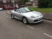 MG TF 2006 2 SEATER CONVERTIBLE 1.8ltr SILVER