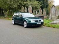 VW Golf GTi 1.8T British racing green