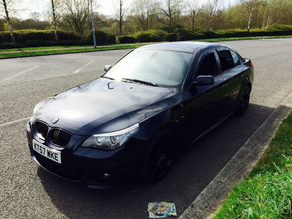 bmw 520d m sport 5 series e60 in kearsley manchester gumtree. Black Bedroom Furniture Sets. Home Design Ideas