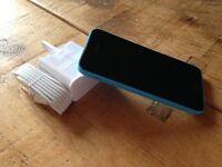 Iphone 5c Blue Excellent condition