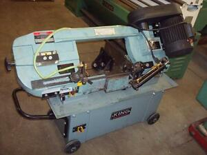 King 7x12 Horizontal band Saw