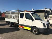 VW Crafter double cab 2008