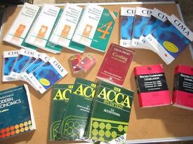 LOTS OF ACCOUNTANCY BOOKS ~ PASS YOUR 'ACCA' 'ACA' 'ACMA' ~ ALL RELEVENT PRINCIPLES ~ OFFERS!!!!
