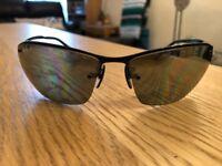 Ray Ban Polarised Black Sunglasses - RB3544 002/5J 64-15 - One Owner