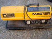 Master Paraffin Space Heater (Hot Air Blower)