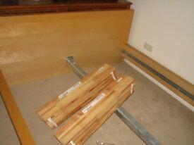Ikea Malm bed frame. Birch colour. Fits 150cm wide mattress